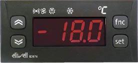 ELIWELL - Электронный контроллер вентилируемых холодильных установок IC 974