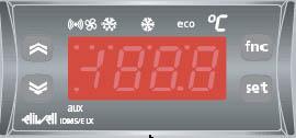 ELIWELL - Электронный контроллер вентилируемых установок с эхо-дисплеем ID 985/E LX