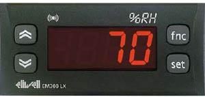 ELIWELL - Электронный цифровой индикатор влажности, давления EM 300LX