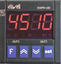ELIWELL - Программируемый электронный таймер с двумя входами и одним выходом EWPH 480