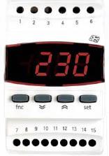 ELIWELL - Электронный мультиметр постоянного напряжения и тока IE 303